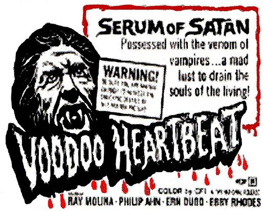 Voodoo Heartbeat Partially Found Horror Film 1973 The