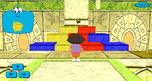 Dora 3D Pyramid Adventure Screenshot.png