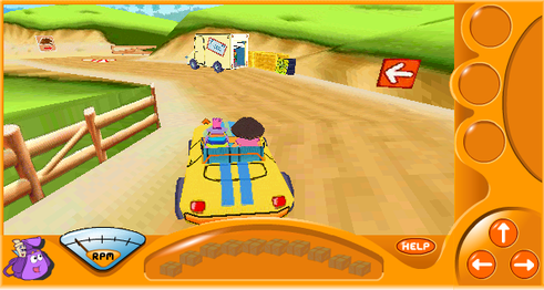 Dora 3D Driving Adventure Screenshot.png